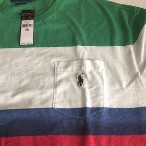 Polo by Ralph Lauren Shirts - Polo Ralph Lauren Men's CP-93 Striped T-Shirt